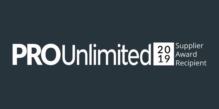 Aquent Platinum Award Winner for Pro Unlimited Supplier Award 2019