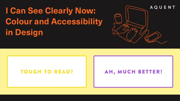 Featured image for I can see clearly now: Colour and Accessibility in Design