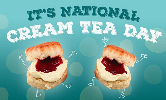 Nation Cream Tea Day