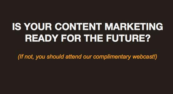 Webcast: Technology Trends That Will Impact Content Marketing in 2014 image